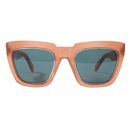 Unisex Zanzan Apache Sunglasses - Burnt Orange