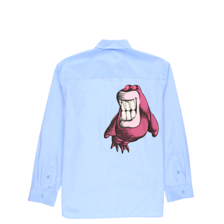 Marni Cotton Poplin Shirt - Light Blue