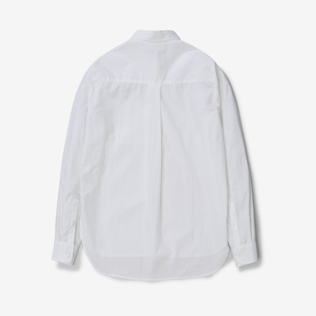 Norse Projects Agny Poplin - white