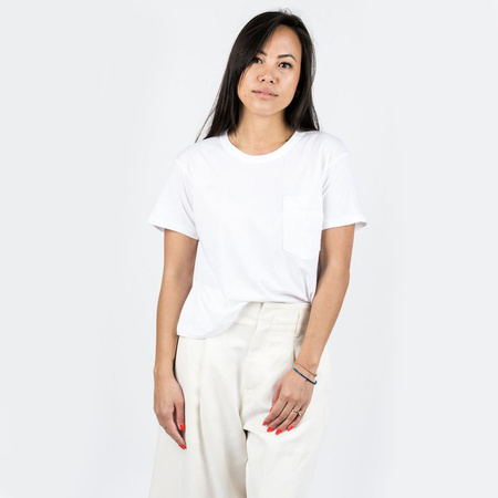 Calder Crop Jaq Tee - White