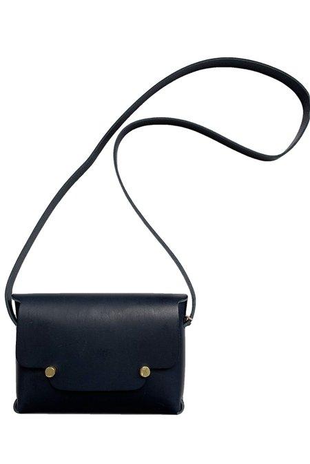 Archipel Paris No 1 Le Petit Handbag - Bleu Noir