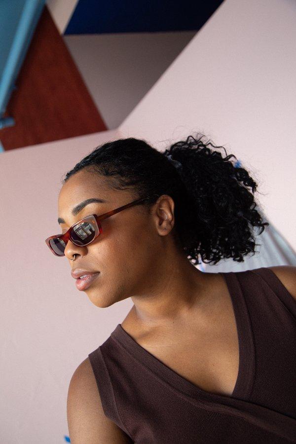 Le Specs Deep Shade Sunglasses - Tortoise