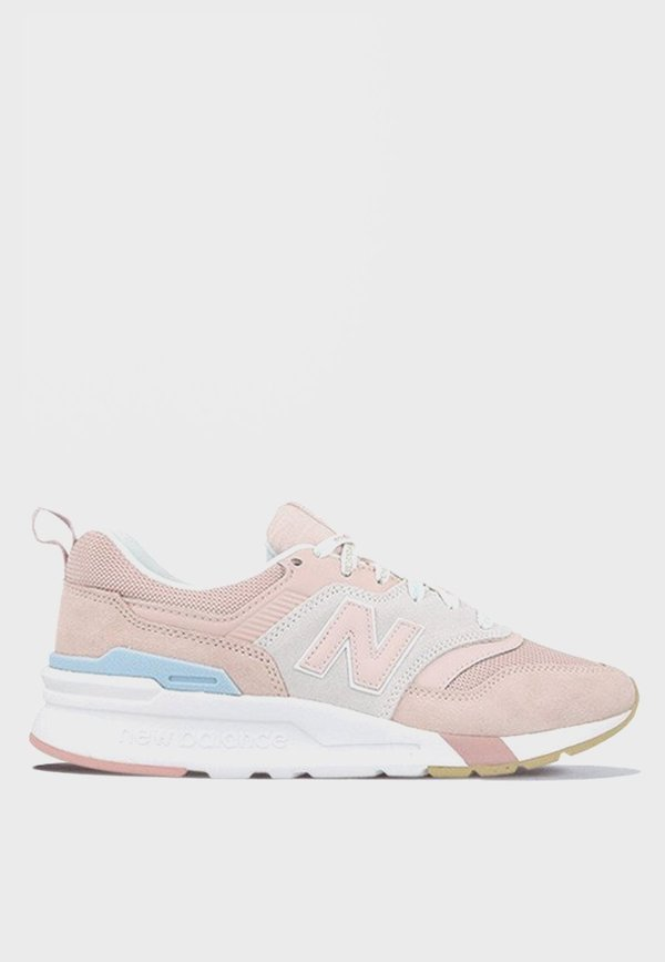 New Balance 997 H - pink/white/blue suede on Garmentory