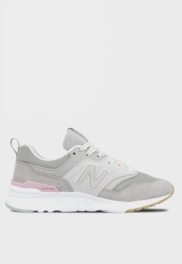 new product 8247d 9af57 New Balance 997 H - grey/white/pink suede on Garmentory