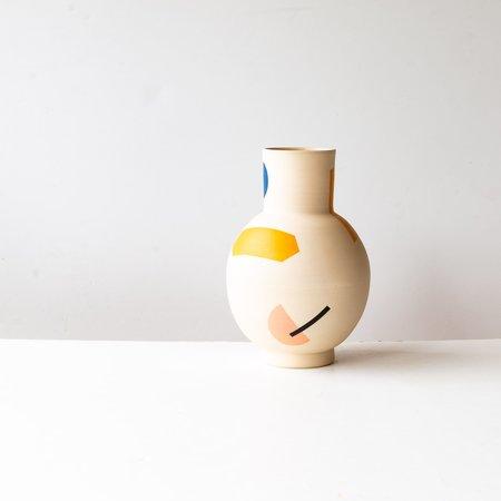 mpgmb Lola #2 Hand Painted Stoneware Vase