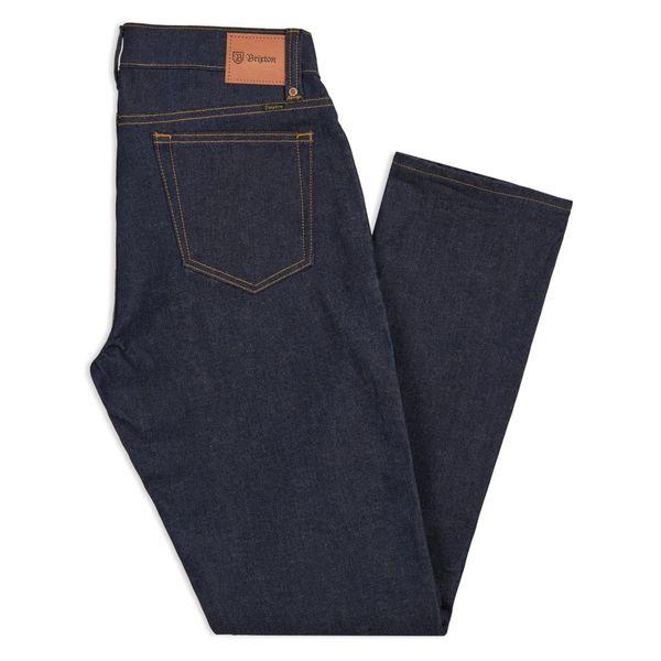 Brixton Reserve 5-Pocket Denim Pant - Raw Indigo