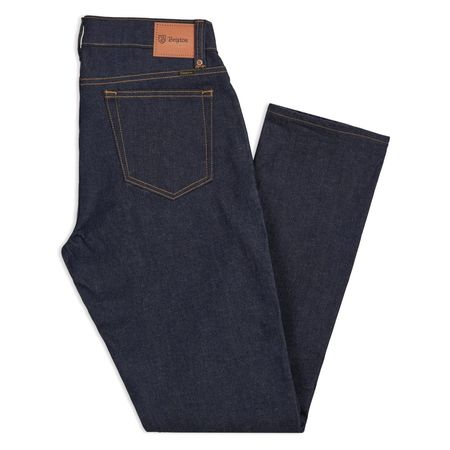 Brixton Reserve 5-Pocket Denim Pant - Raw Indigo
