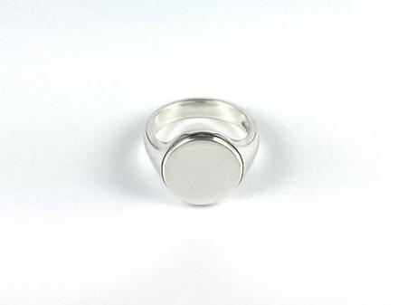 Joel Muller Design Round Signet Ring