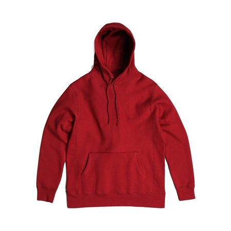 Robertson's Co. Standard Issue Pullover - Burgundy