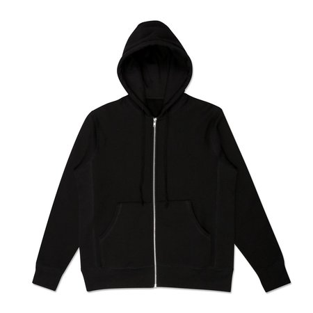 Robertson's Co. Standard Issue Zip-Up - Black