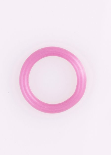 Keane Thin Glass Ring - Purple Passion