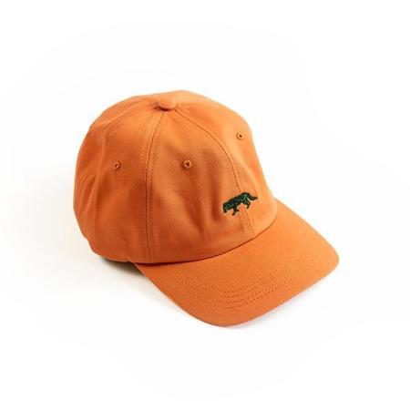 Raised by Wolves Restricted Dad Cap - Pumpkin