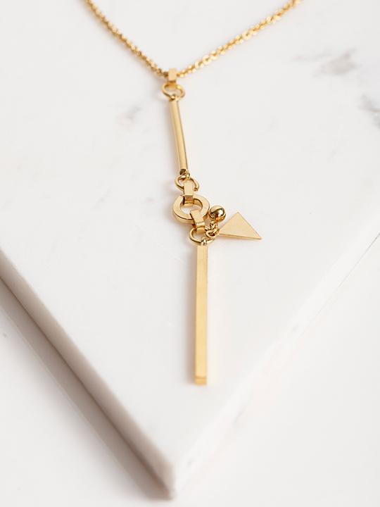 Alynne Lavigne Long Chain Necklace
