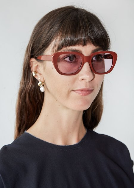 a Detacher Gloria Sunglasses - Annatto Orchid