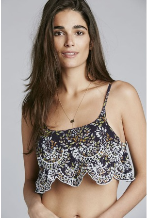 Free People Intimates So Much Fun Cami - Purple Combo