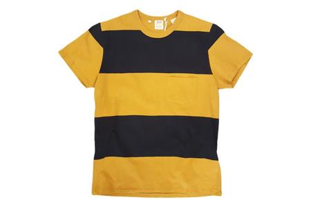 Levi's Vintage 1960s Casual Stripe Tee - Black/Gold Multi