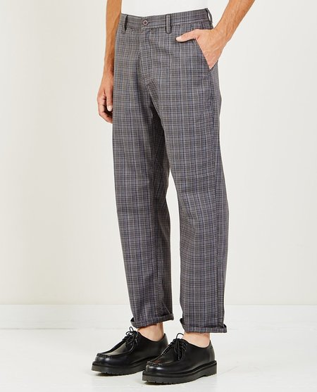 Barney Cools B.BOXY CHINO - GREY PLAID