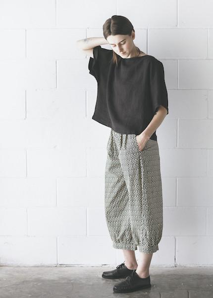 Ilana Kohn - Mo Pants in Black Checkers