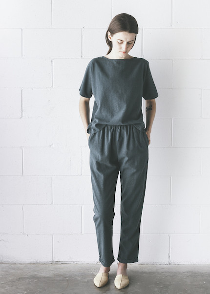 Me & Arrow - Cuff Pant in Ultramarine