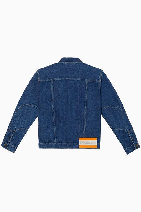 Calvin Klein Trucker Jacket - Apollo Blue