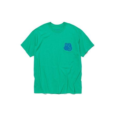 Post-Imperial x ENGINEERED GARMENTS AREWA POCKET TEE - Green