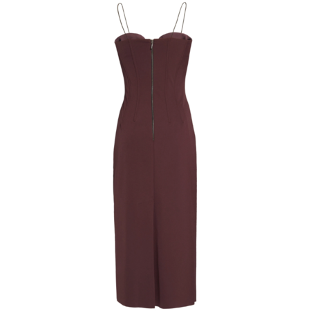 Lake Studio Stretch Jersey Midi Dress - PURPLE