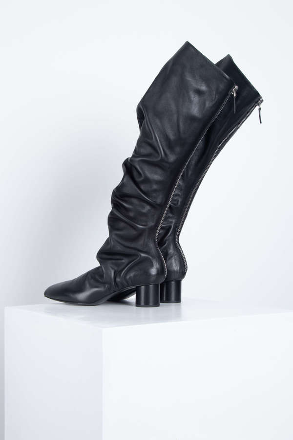 Jil Sander Tall Boots - NERO