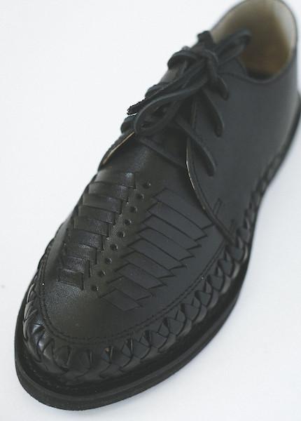 Chamula - Veracruz Oxfords in Black