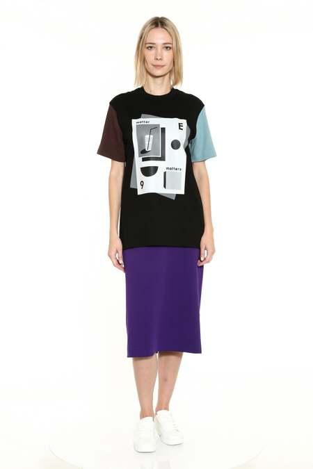 Unisex Matter Matters Smile T-Shirt - Black