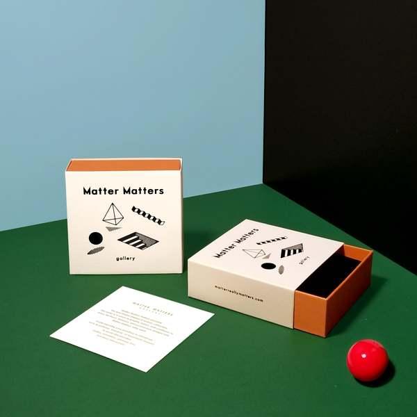Matter Matters CHANCE NECKLACE - White/Orange