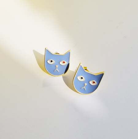 Matter Matters Kitty Tom Earrings