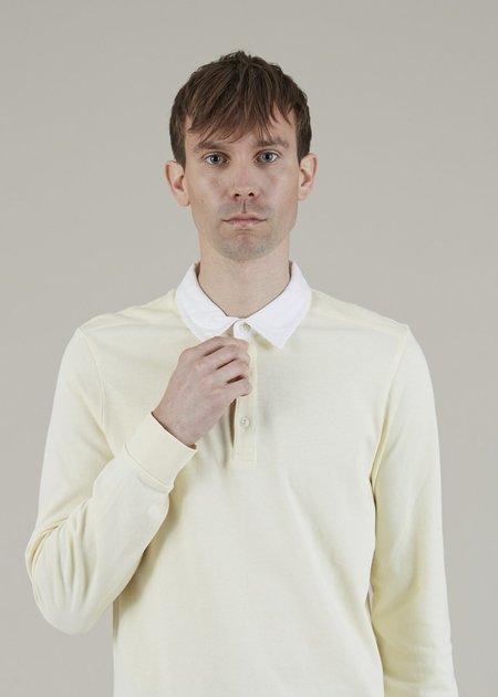 Homecore Killies Long Sleeve Polo - Almond