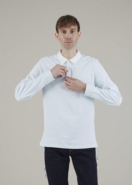 Homecore Killies Long Sleeve Polo - Light Mint