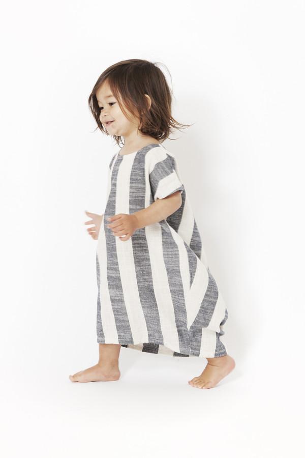 Black Crane Kids Pleated Cocoon Dress Garmentory