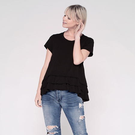 Wilt double tier crew - Black