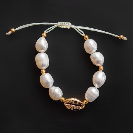 frankie. bracelet - Pearl