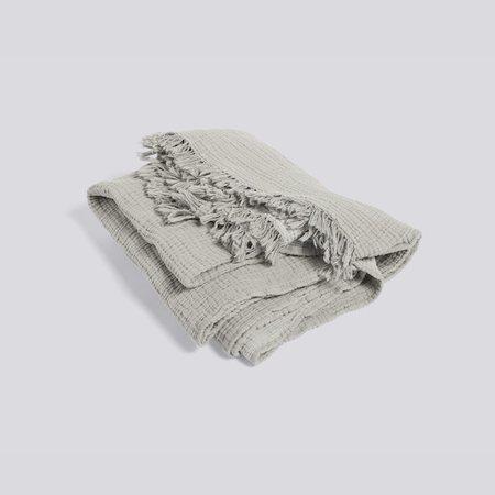 HAY Crinkle Blanket - grey