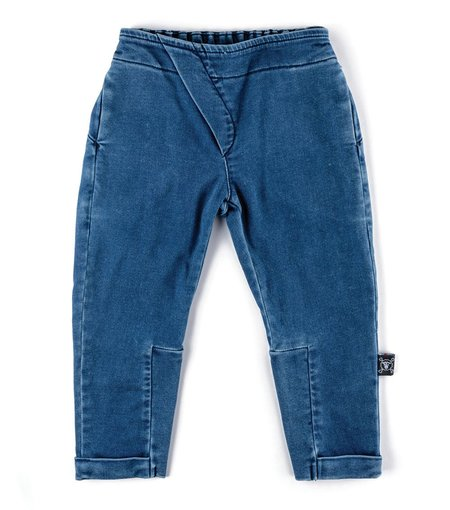 Kids Nununu Side Flap Denim Pants - Denim