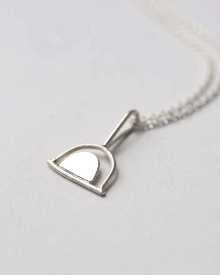 Argent Silversmith Double Arch Necklace - Sterling Silver