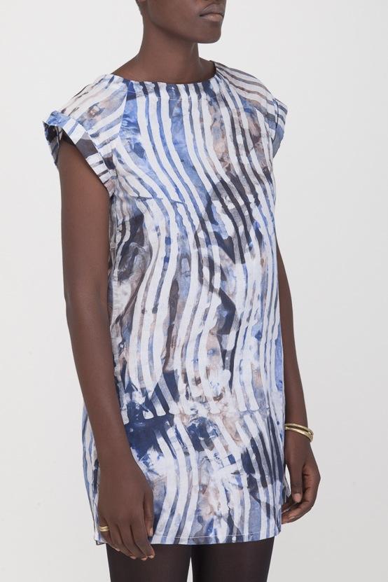 Osei-Duro Deni Raglan Dress | Waves