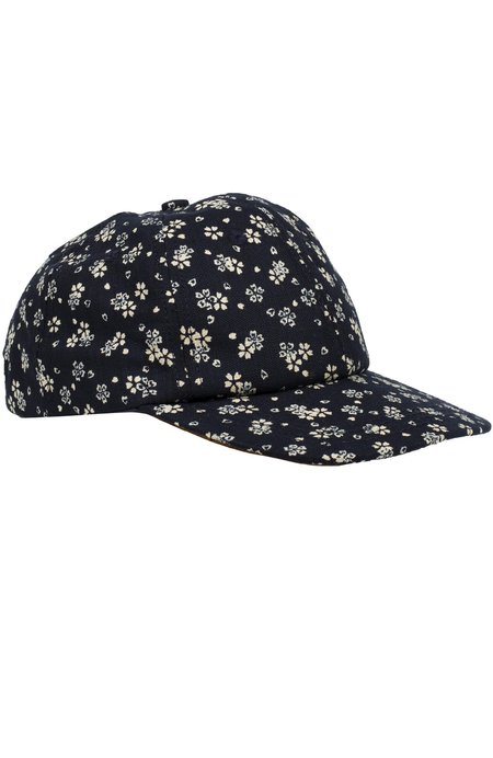 18 Waits Casey Jones Snap Back Hat - FLOWERS/HEARTS