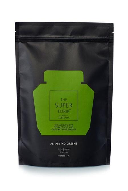 WelleCo Alkalising Greens Pouch Refill 300g