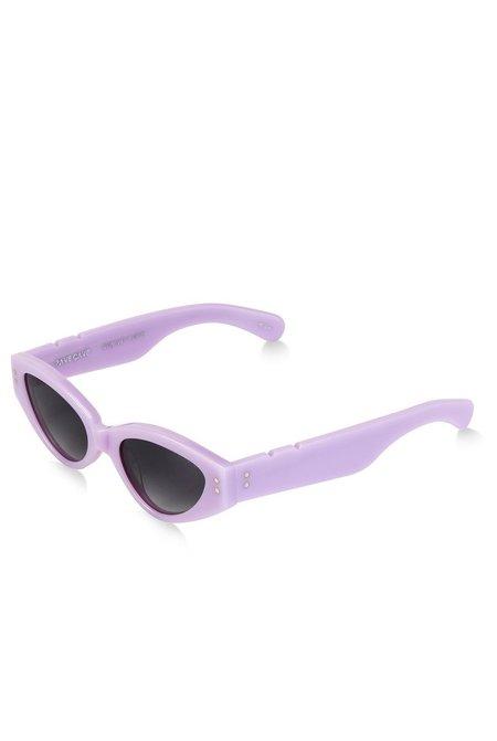 Pared x Bec and Bridge 11 Rave Cave Sunglasses - Lilac
