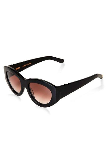 Unisex Pared Eyewear x Holly Ryan Serra - Black Acetate