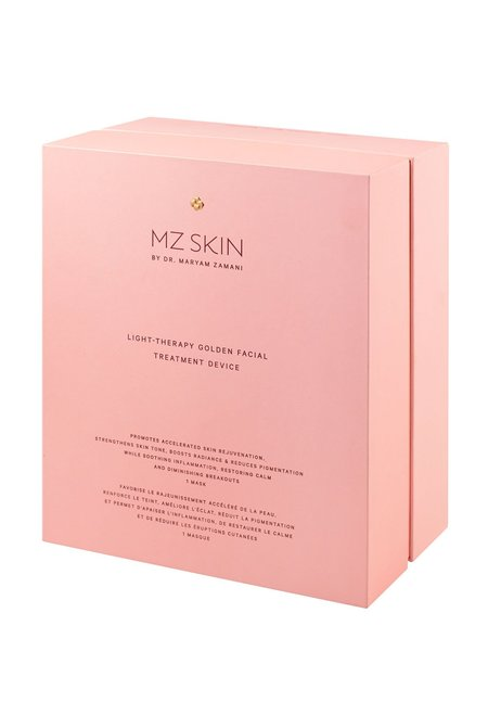 MZ Skin Light-Therapy Facial Treatment Device - Golden