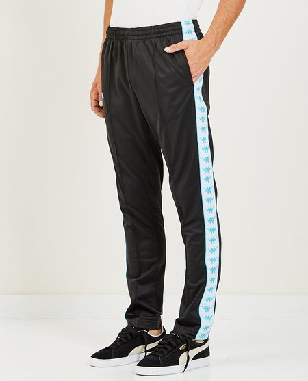 KAPPA AUTHENTIC BASCILE UP & DOWN TRACK PANT - BLACK