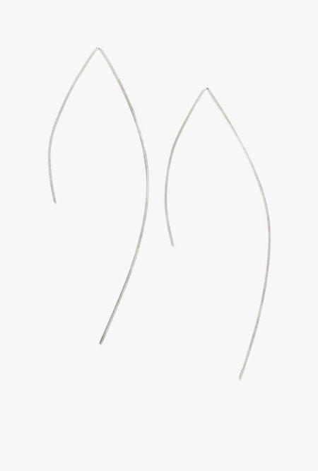 Circadian Studios Large Pull Thru Earrings - Sterling Silver