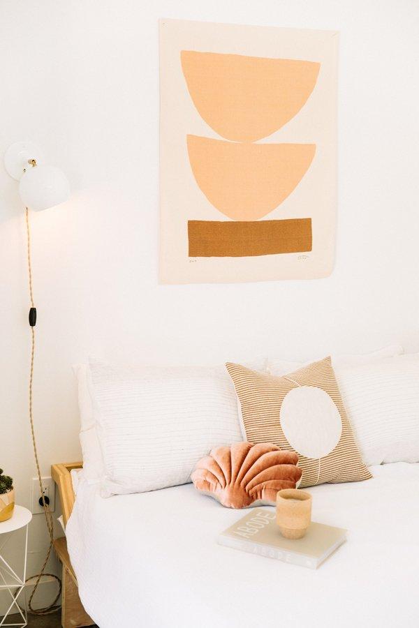 Tamar Mogendorff Shell Pillow - Coral