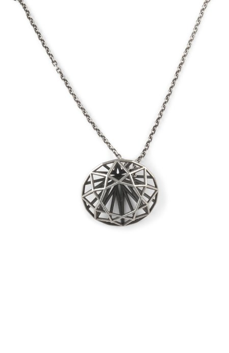 M. COHEN Oval Necklace - Sterling Silver