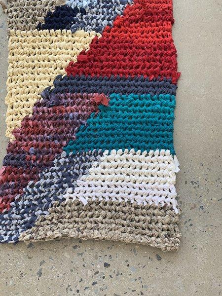 Brave Hand Textiles Crochet Throw Rug - Cape Cod